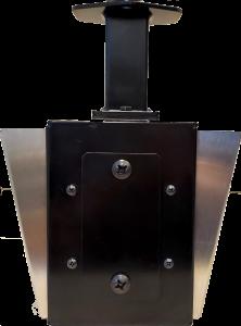 Double-Sided IP Display with Universal Mount (IPCDS-RWB-U) Side View