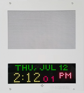IP Speaker with Display (IPSWD) (no flashers)